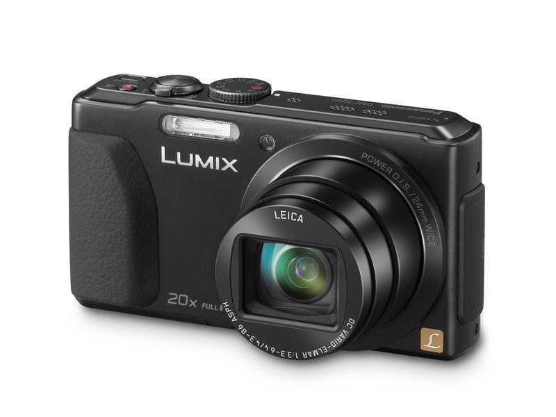 Фотоаппарат panasonic lumix dmc-tz25 белый 1