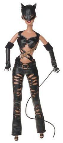 Как сшить костюм женщины кошки для куклы 3