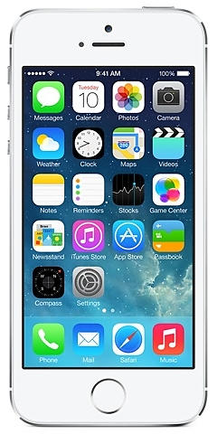 Apple iPhone 5s 16gb Silver (Grade A)