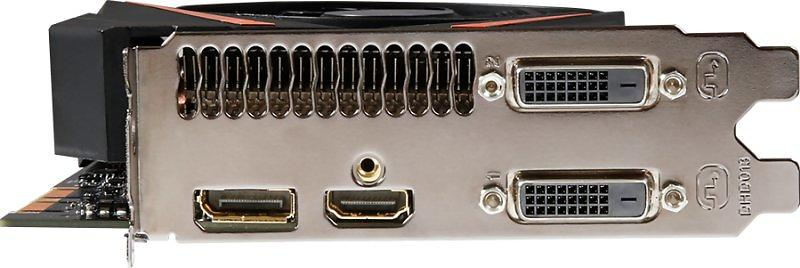 Gigabyte GeForce GTX 1070 Mini ITX OC HDMI DP 2xDVI 8GB
