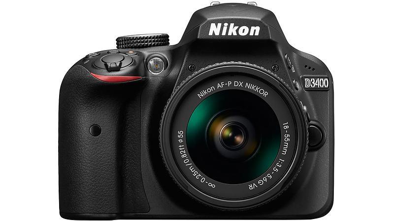 Nikon D3400 + AF-P 18-55/3,5-5,6 VR