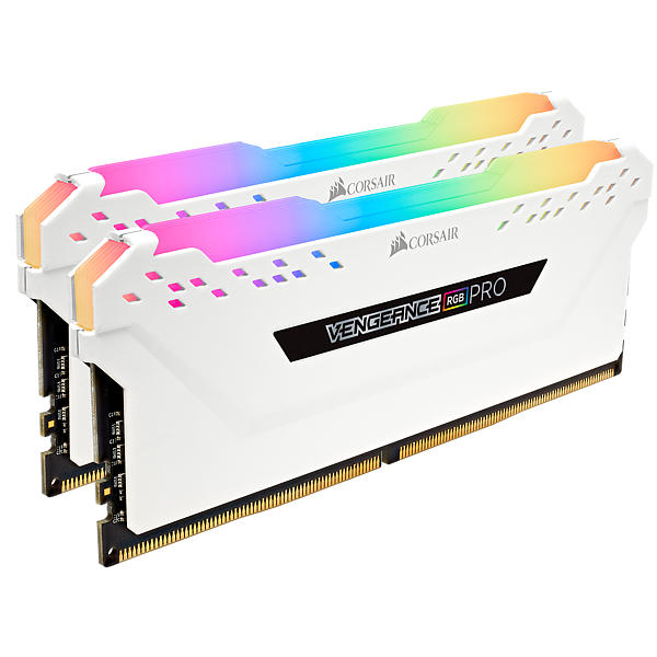 Corsair Vengeance White RGB LED Pro DDR4 3200MHz 2x8GB (CMW16GX4M2C3200C16W)