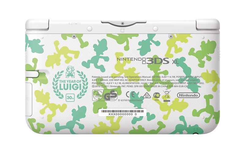 Nintendo 3DS XL - Luigi Special Edition