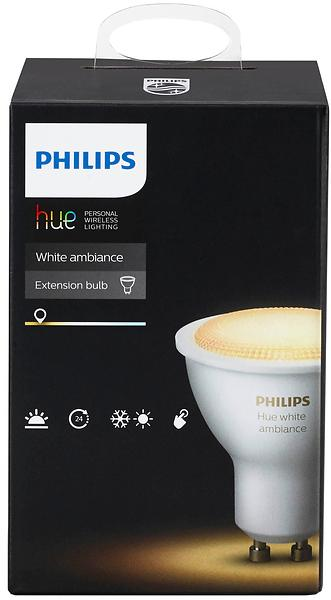 Philips Hue Ambiance White 250lm 6500K GU10 5,5W (Dimmerabile)