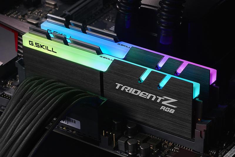 G.Skill Trident Z RGB LED DDR4 3200MHz 2x8GB (F4-3200C14D-16GTZR)