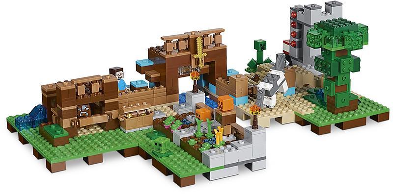 LEGO Minecraft 21135 The Crafting Box 2 0