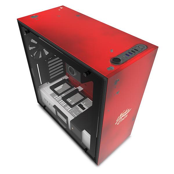 NZXT H700 Nuka-Cola (Rosso/Nero/Trasparente)