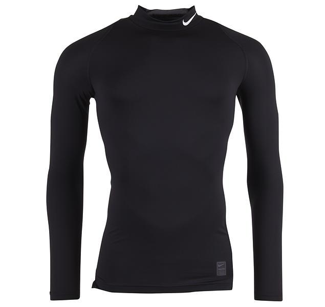 Nike Pro Cool Compression LS Mock Shirt (Uomo)