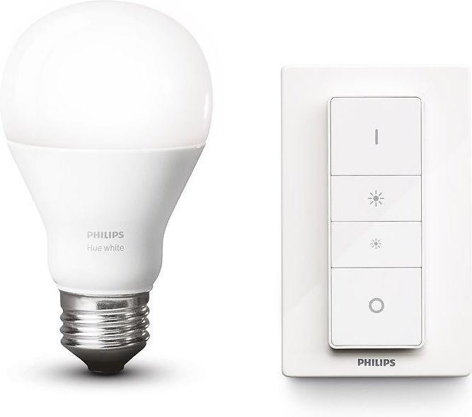 Philips Hue Wireless Kit White 2700K E27 9,5W (Dimmerabile)