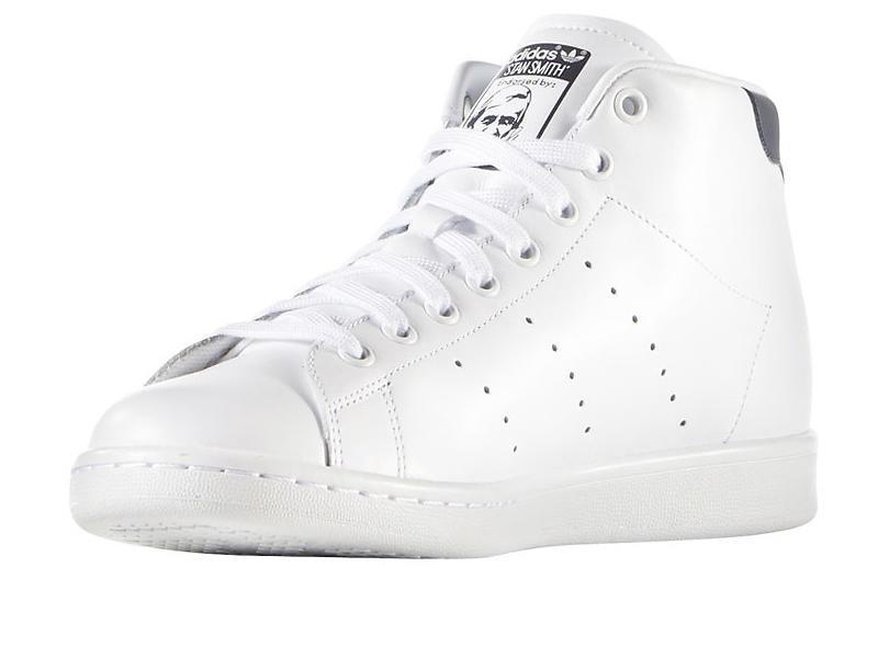 Adidas Originals Stan Smith Leather Mid (Unisex)
