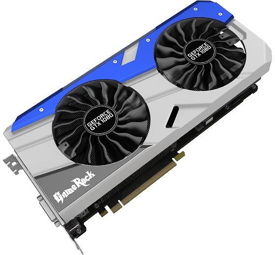 Palit GeForce GTX 1080 GameRock HDMI 3xDP 8GB