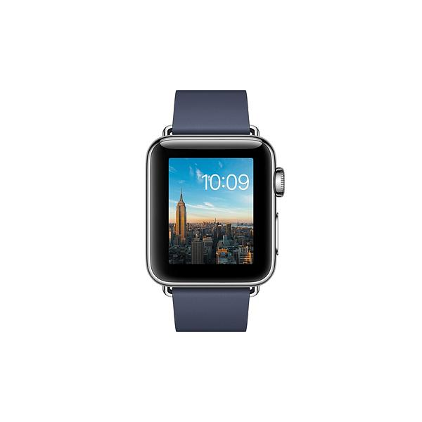 Apple Watch Series 2 38mm Stainless Steel with Modern Buckle