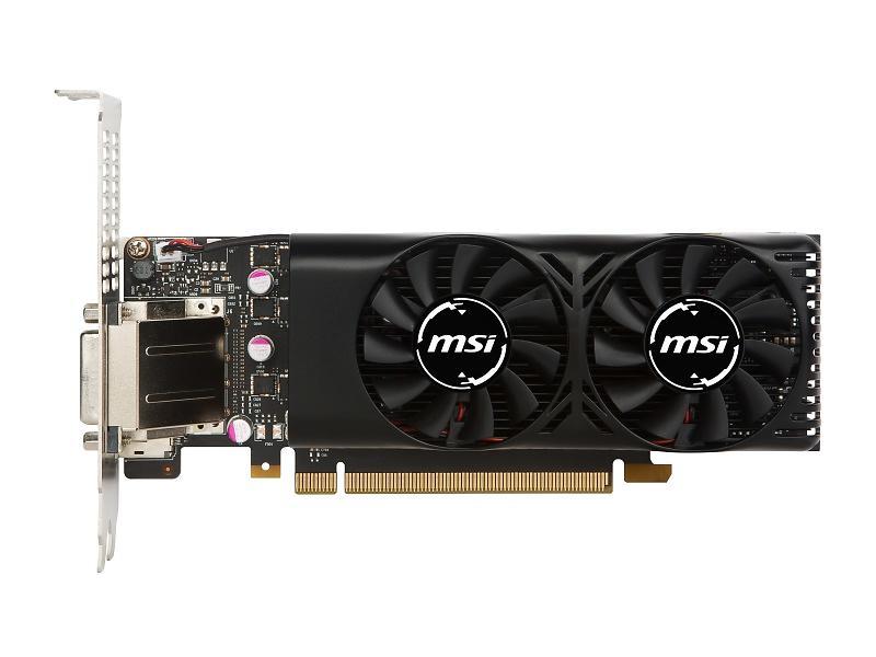 MSI GeForce GTX 1050 Ti Dual Fans LP HDMI DP 4GB