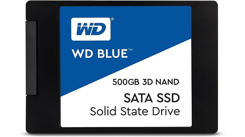 """WD Blue 3D NAND SSD 2.5"""" SATA III 500GB"""