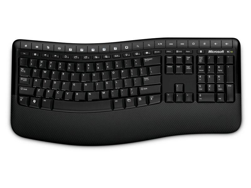 Microsoft Wireless Comfort Desktop 5000 (Nordico)