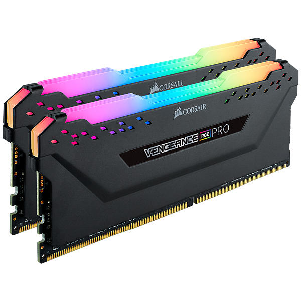Corsair Vengeance Black RGB LED Pro DDR4 3000MHz 2x8GB (CMW16GX4M2C3000C15)