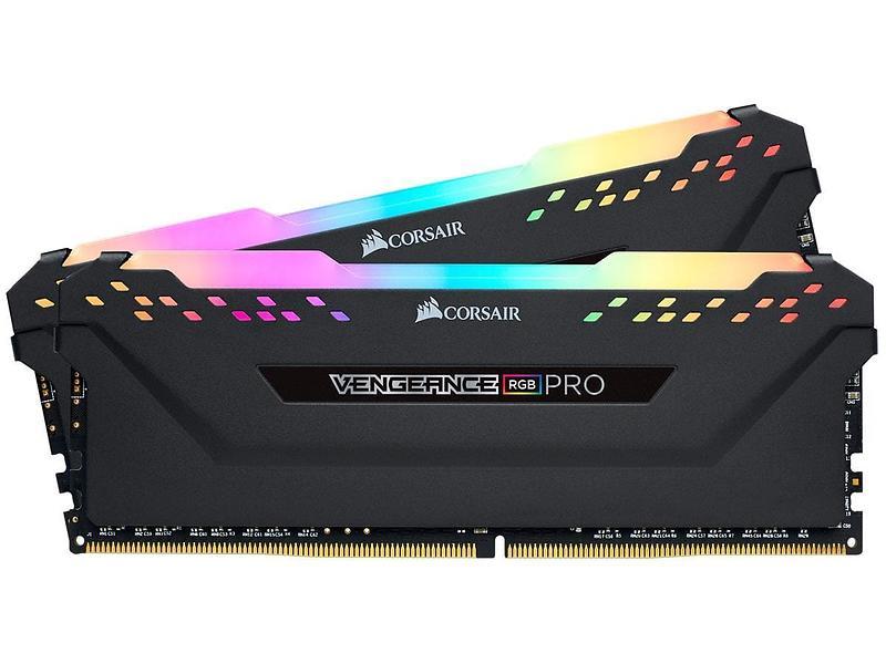 Corsair Vengeance Black RGB LED Pro DDR4 3200MHz 2x8GB (CMW16GX4M2C3200C16)