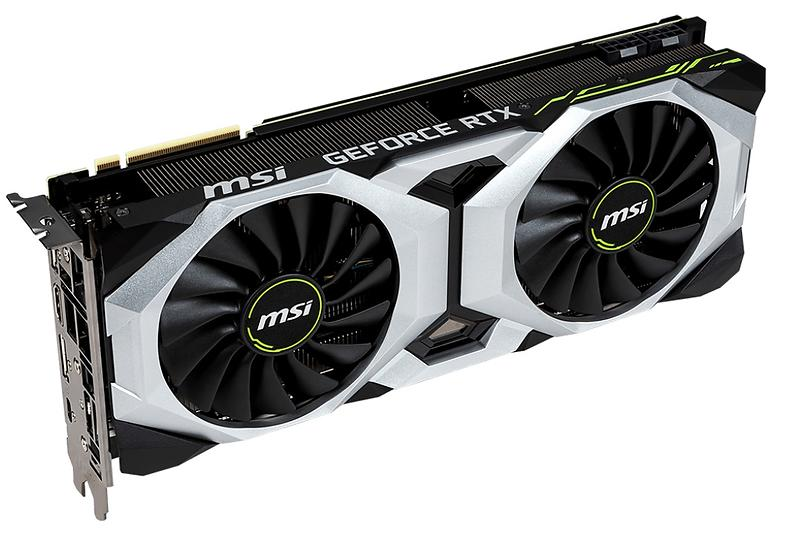 MSI GeForce RTX 2080 Ventus OC HDMI 3xDP 8GB