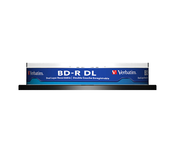 Verbatim BD-R DL 50GB 6x 10pz Spindle