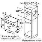 Bosch HBS534BS0B (Stainless Steel)