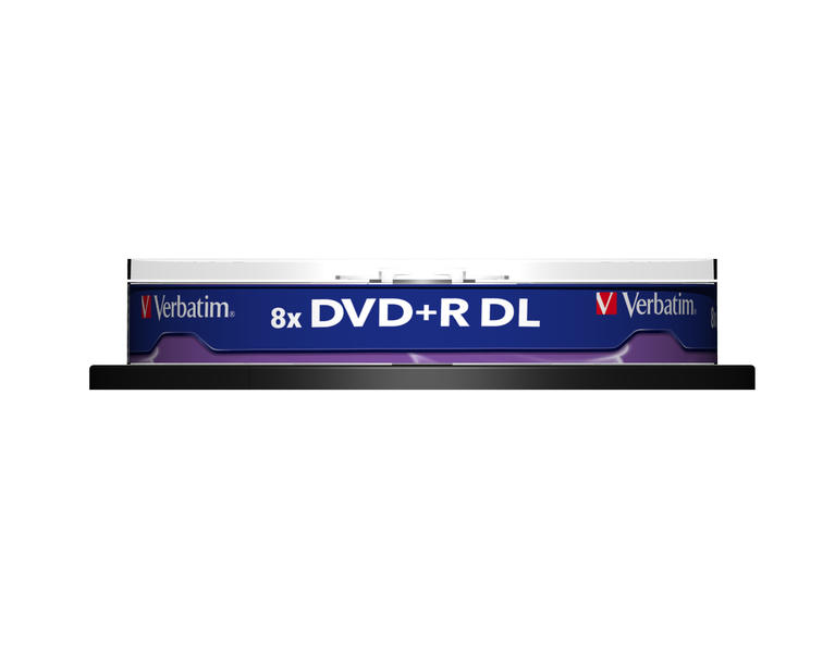 Verbatim DVD+R DL 8,5GB 8x 10pz Spindle