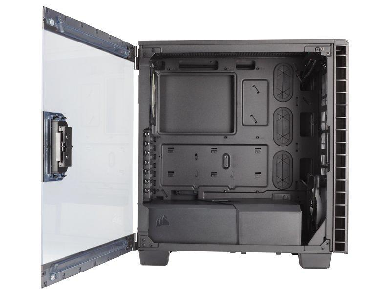 Corsair Carbide Clear 400C (Nero/Trasparente)
