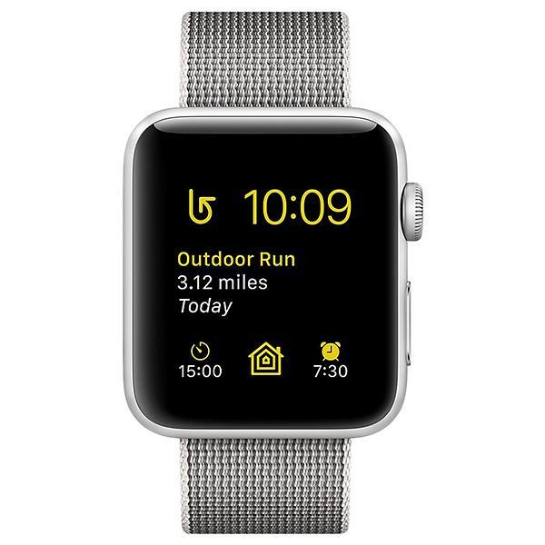 Apple Watch Series 2 38mm Aluminium with Woven Nylon