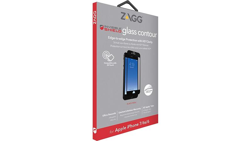 Zagg InvisibleSHIELD Glass Contour for iPhone 7/8