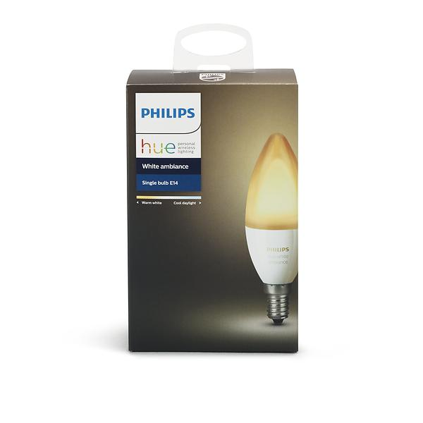 Philips Hue White Ambiance B39 6500K E14 6W (Dimmerabile)