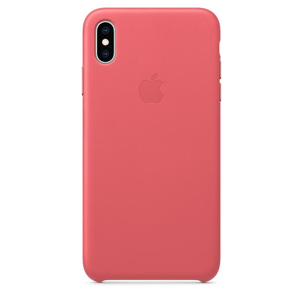 Apple Leather Case for iPhone XS Max