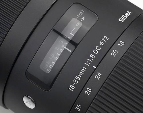 Sigma 18-35/1,8 DC HSM Art for Sony A
