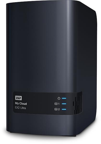 WD My Cloud EX2 Ultra 8TB