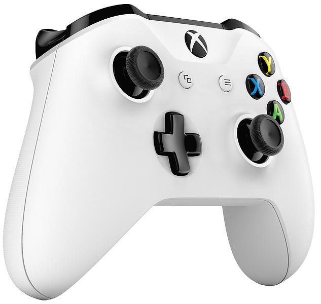 Microsoft Xbox One Wireless Controller S - White (Xbox One/PC) (Original)