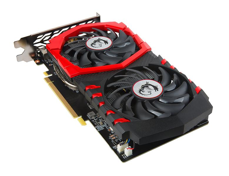 MSI GeForce GTX 1050 Ti Gaming X HDMI DP 4GB