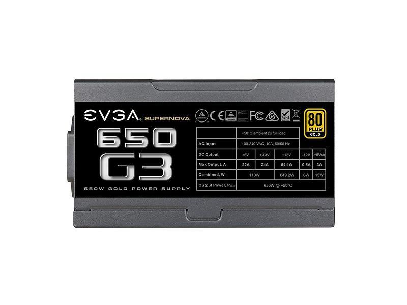 EVGA SuperNOVA G3 650W