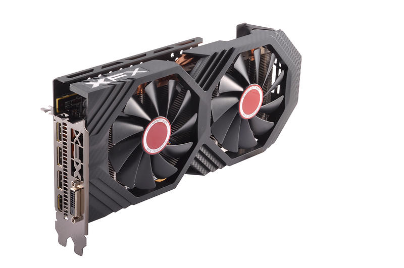XFX Radeon RX 580 GTS Black Edition HDMI 3xDP 8GB
