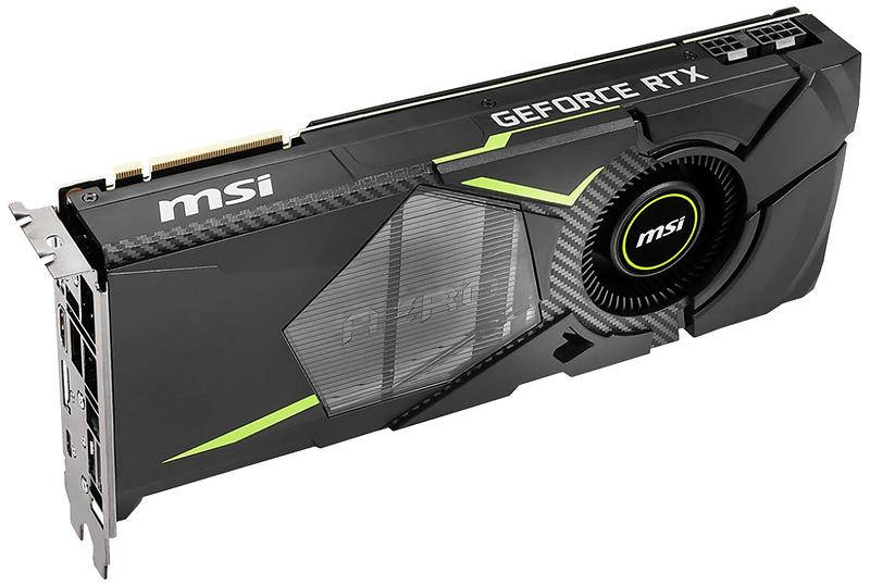 MSI GeForce RTX 2080 Aero HDMI 3xDP 8GB