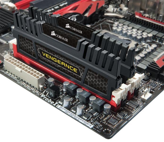 Corsair XMS3 Vengeance Black DDR3 1600MHz 2x4GB (CMZ8GX3M2A1600C9)