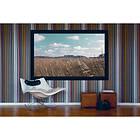"""Kingpin Screens Fixed Frame Velvet Matt White 16:9 90"""" (200x112,5)"""