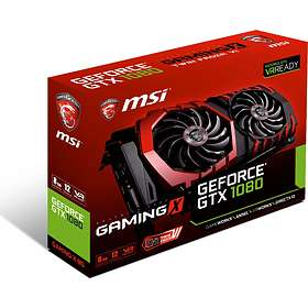 MSI GeForce GTX 1080 Gaming X HDMI 3xDP 8GB
