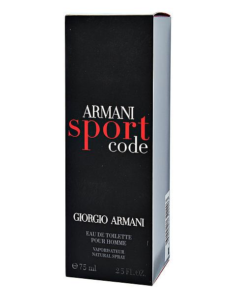 Giorgio Armani Code Sport edt 75ml