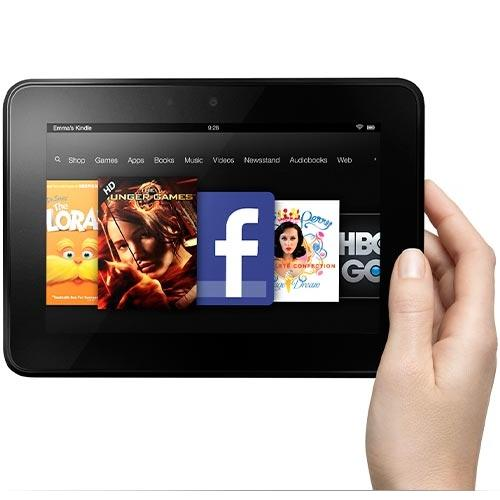 "Amazon Kindle Fire HD 7"" 16GB (2nd Generation)"