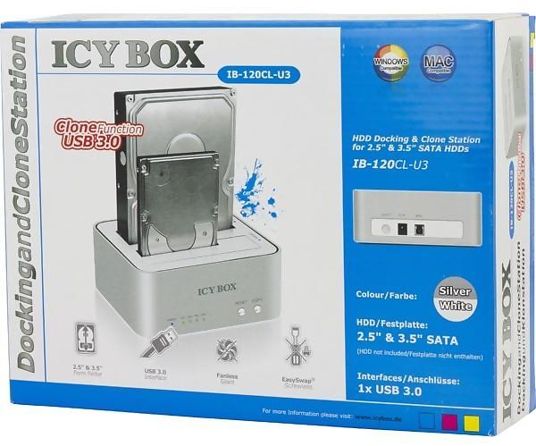 Icy Box IB-120CL-U3