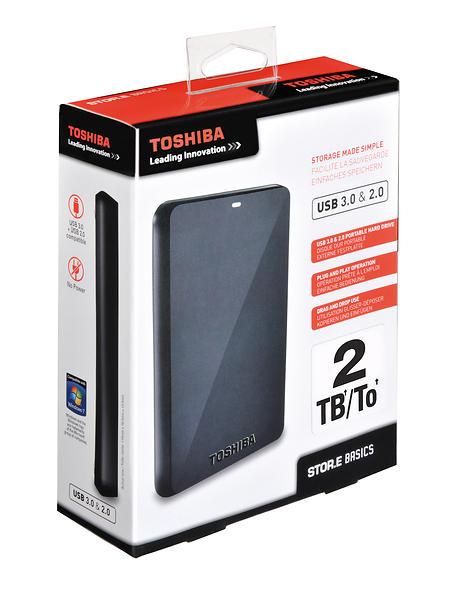 "Toshiba StorE Basics 2.5"" USB 3.0 2TB"