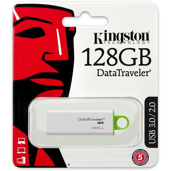 Kingston USB 3.0 DataTraveler G4 128GB