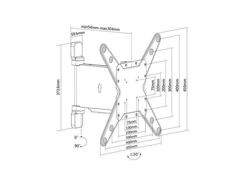 Multibrackets M Motorized Turn Mount