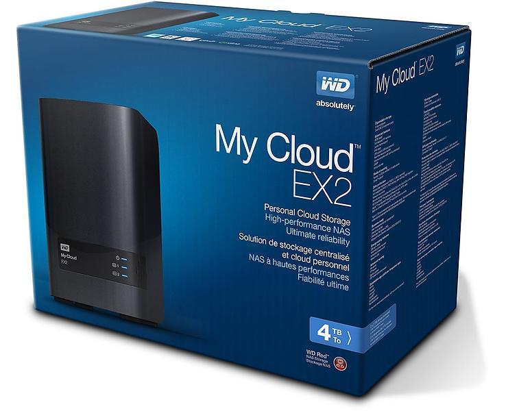 WD My Cloud EX2 4TB