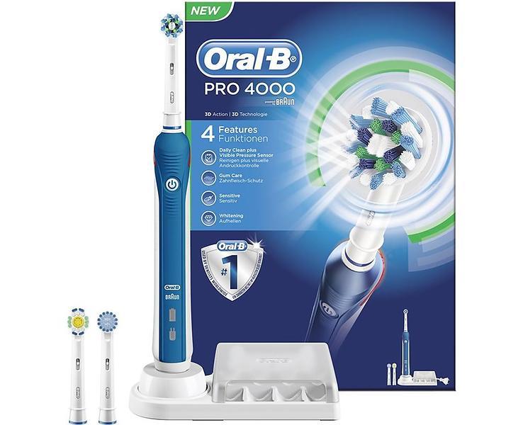Bilder på Jämför priser på Oral-B (Braun) Pro 4000 TriZone - Hitta ... 0dd67f7b293d9