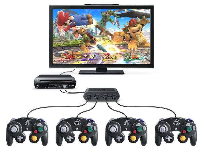 Nintendo GameCube Controller Adapter Wii U
