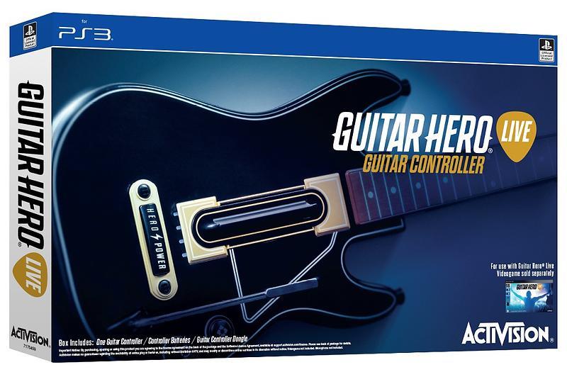 Activision Guitar Hero Live Chitarra (PS3)